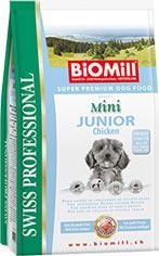 BioMill Swiss Professional Mini Junior Chicken & Rice