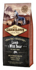 Carnilove Lamb & Wild Boar for Adult