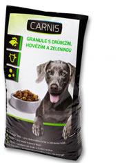 Carnis granule s drůbežím,hovězím a zeleninou