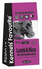 Kennels` Favourite Lamb&Rice