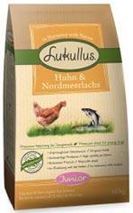 Lukullus Junior Huhn & Nordmeerlachs