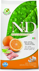 N&D Grain Free Fish & Orange Adult Dog