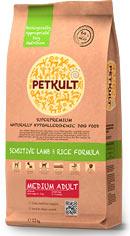 Petkult Medium Adult lamb/rice