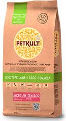 Petkult Medium Junior lamb/rice