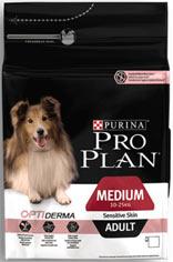 Purina Pro Plan Medium Adult Sensitive Skin Optiderma