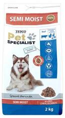 Tesco Pet Specialist Kompletní krmivo pro dospělé psy bohaté na hovězí, s obilovinami a mrkví