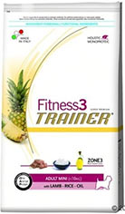 Trainer Fitness3 Adult Adult Mini Lamb & Rice