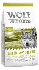 Wolf of Wilderness Green Fields - jehněčí