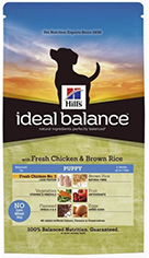 Hill's Ideal Balance Puppy with Fresh Chicken & Brown Rice