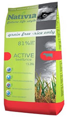 Nativia Active Beef & Rice