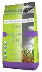 Nativia Senior & Light Chicken & Rice