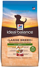 Hill's Ideal Balance Canine Adult Large Breed with Fresh Chicken & Brown Rice