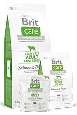 Brit Care Grain-free Adult Large Breed Salmon & Potato