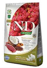N&D Quinoa Skin & Coat Duck