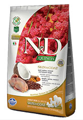 N&D Quinoa Skin & Coat Quail
