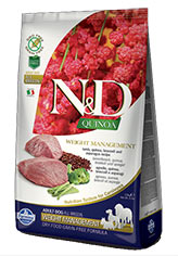 N&D Quinoa Weight Management Lamb
