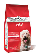 Arden Grange Adult: with fresh chicken & rice