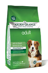 Arden Grange Adult: with fresh lamb & rice