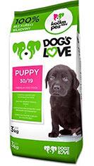 Dog´s love Puppy