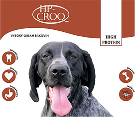 HP-CROQ Dog High Protein