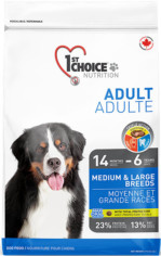 1st Choice Adult Medium & Large Breed